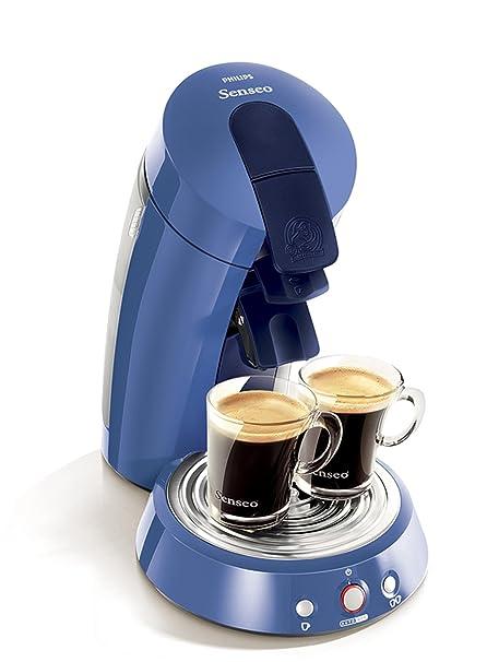 Philips Deluxe Single Serve Gourmet Coffeemaker, blue, Azul, 1450 ...