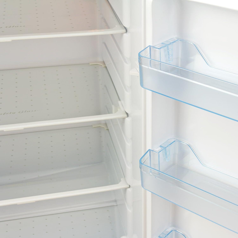 Kühlschrank Gefrierkombination 217 Liter A Amazon Baumarkt