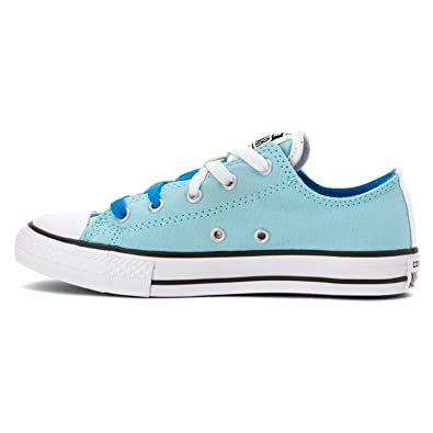 sale retailer 80412 8c332 Image Unavailable. Image not available for. Color  Converse Kids Girl s  Chuck Taylor All Star Loopholes Ox (Little ...