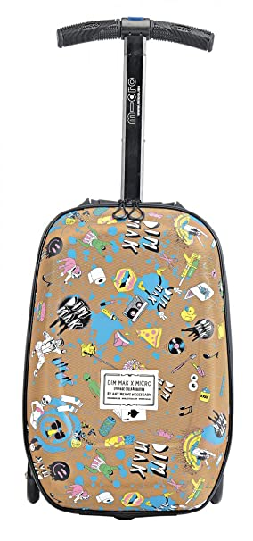 Micro 3in1 Luggage Scooter - Steve Aoki Ltd Edition: Amazon.co.uk ...