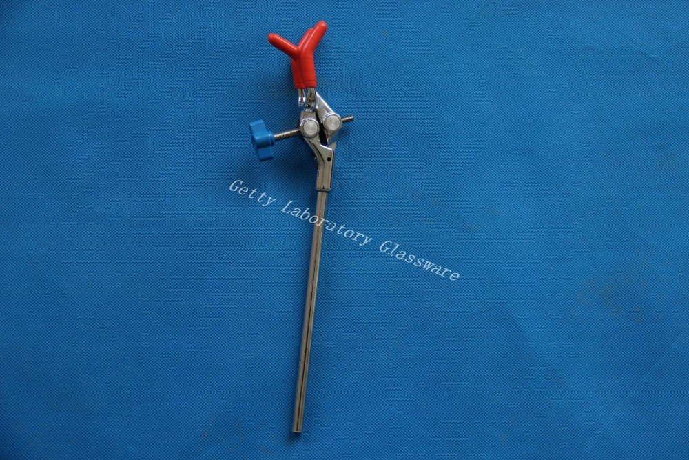 Three finger clamp,extension clamp for distillation apparatus