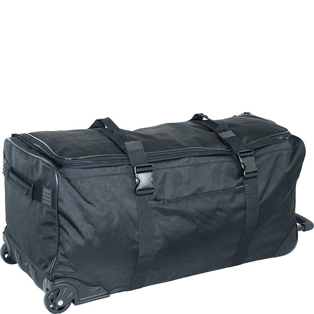 Black Netpack Standing UP Travel Wheeled Duffel