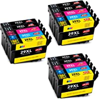 JIMIGO 29 XL 29XL Cartouches d'encre Remplacement Pour Epson 29 Haute Capacité Compatible Avec Epson Expression Home XP-245 XP-445 XP-345 XP-235 XP-435 XP-442 XP-342 XP-247 XP-335 XP-352 XP-355