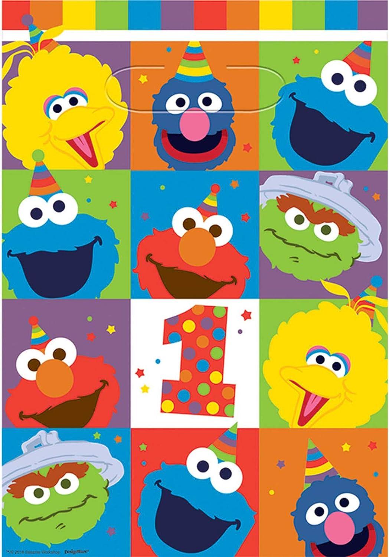 Amscan Sesame Street Elmo Turns One Cone Hat Birthday 250643