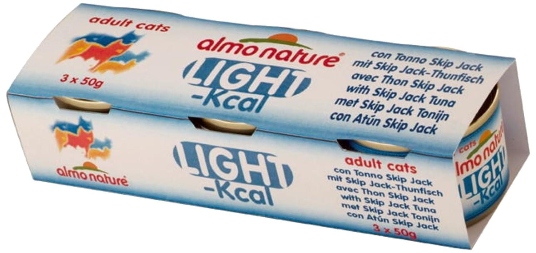 Almo nature Gato Light Tonno Skip Jack GR50: Amazon.es: Productos para mascotas