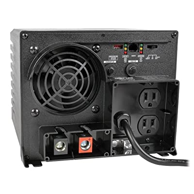 Tripp Lite 750W Power Inverter / Charger, 12V DC to 120V AC, 20A, 2 Outlet, 5-15R, 1 Year Warranty (APS750): Home Audio & Theater