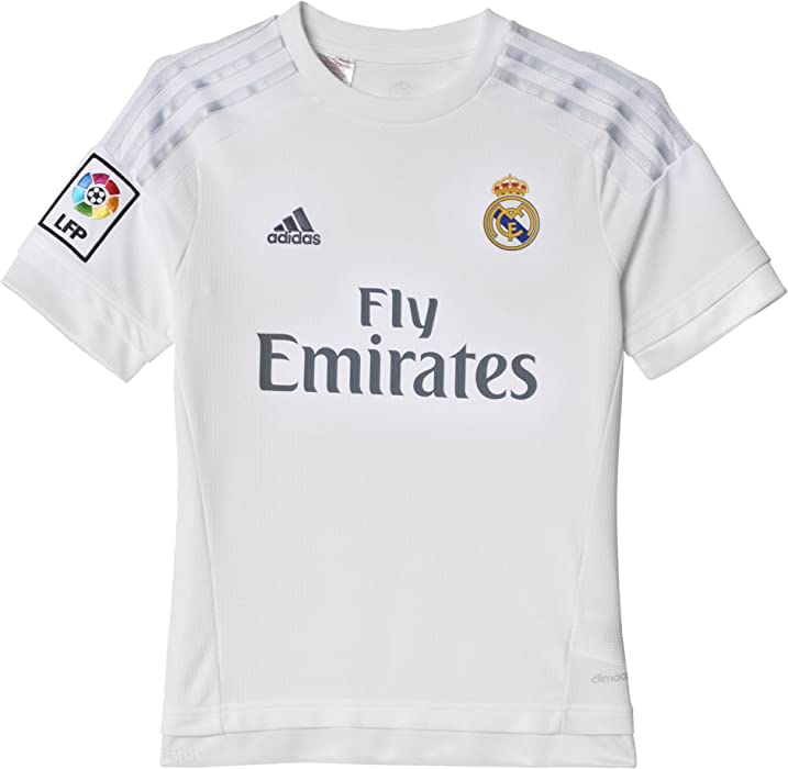 f1b33bc5065 Amazon.com   Real Madrid Kids (Boys Youth) Home Jersey 2015 - 2016 ...