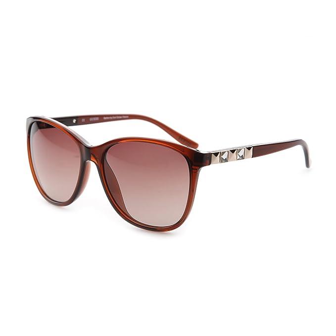 Gafas de sol Guess GU7283 E26D marrón UV 2 - mujer - TU ...