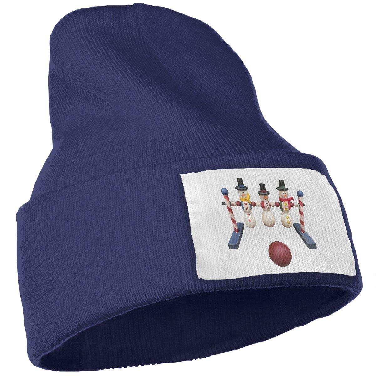 QZqDQ Bowling Unisex Fashion Knitted Hat Luxury Hip-Hop Cap