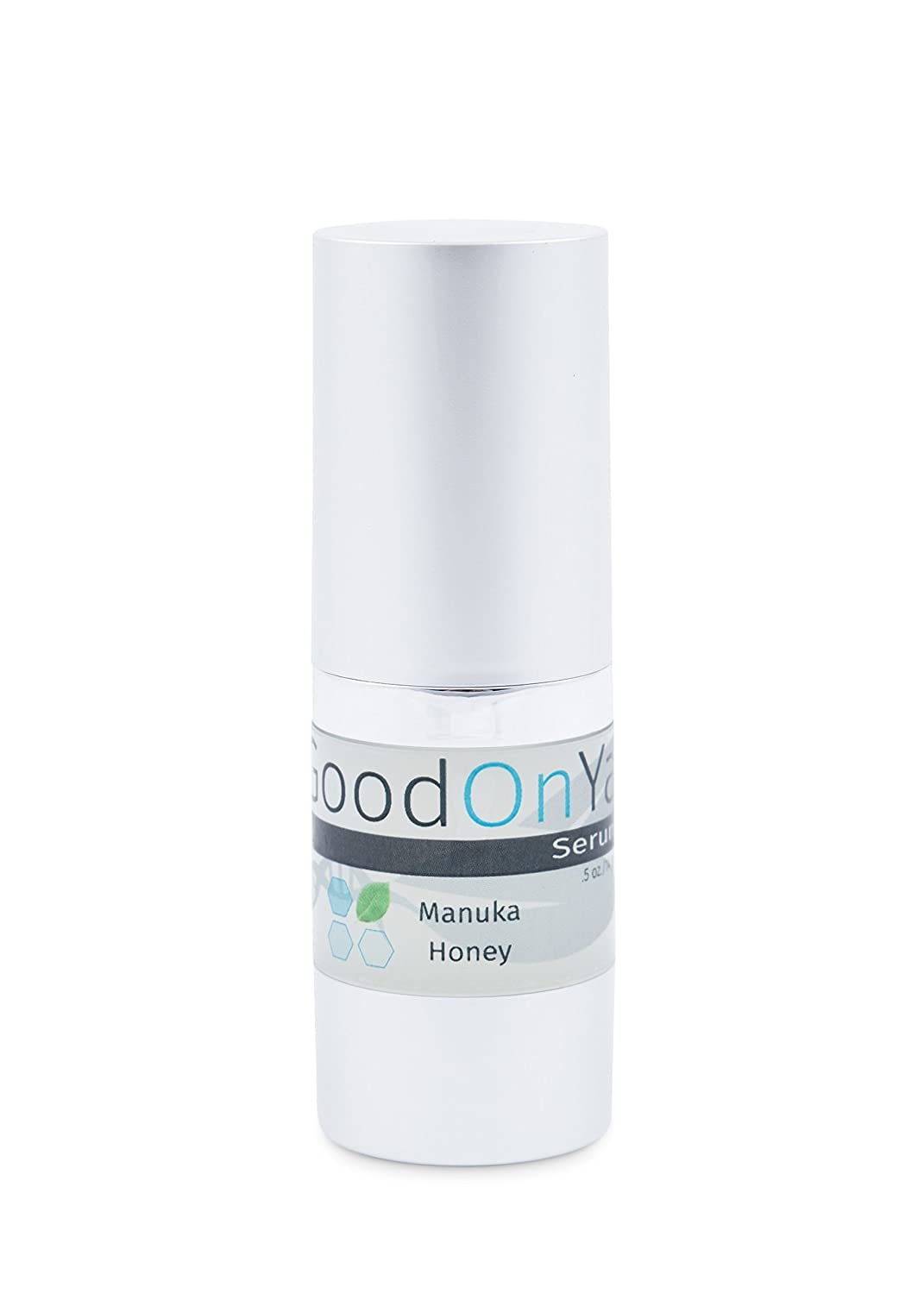 Antioxidant Serum, Anti Aging Face Serum, Instant Visible Results by GoodOnYa. Nano Aloe Vera, Vitamins A, C & E and Manuka Honey. Natural and Organic (.5 oz) Goy-711