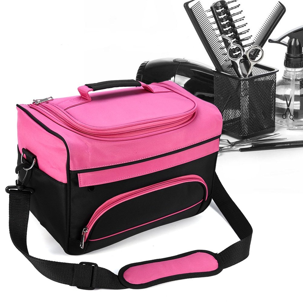 Barber Handbag, Salon Handbag Hairdressing Tools Bag Portable Scissors Comb Holder Bag Hairstyling Travel Case