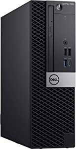Dell Optiplex 7060 | Intel 8th Gen i5-8500 (6 Core) | 16GB 2666MHz DDR4 | 256GB Solid State Drive SSD | Win 10 Pro | Small Form Factor (Renewed)