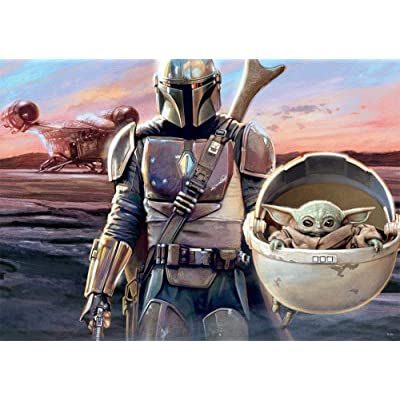 Star Wars - The Mandalorian - This is The Way - 1000 Piece Jigsaw Puzzle: Toys & Games