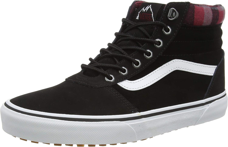 Ward Hi MTE Lace Up Sneaker Blk Plaid