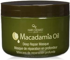 Hair Chemist Mascarilla de Nueces de Macadamia para Una Reparación Profunda - 227 gr