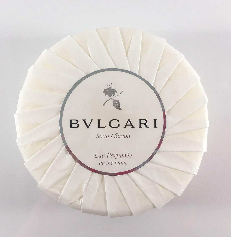 ブルガリ オパフメ オーテブラン デラックスソープ150g BVLGARI Bvlgari Eau Parfumee au the blanc White Soap B00O4EBDFO