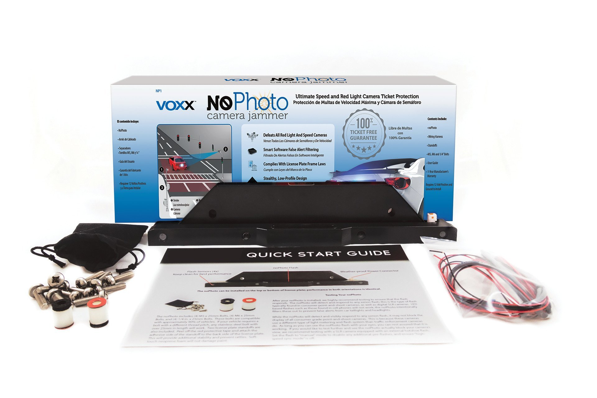 Voxx NoPhoto Camera Jammer - No More Speed Camera Tickets by Audiovox (Image #1)