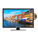 Sceptre E195BD-SRR 19-Inch 720P LED TV, True Black (2017)
