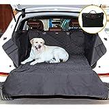 AYADA SUV Kofferraum Schutzdecke für Hunde, Autoschondecke Kofferraum Decke Haustier Auto Wasserdicht Rutschfest mit Klettverschluss Ladekantenschutz, Passt Kofferraumbereich 88×100cm
