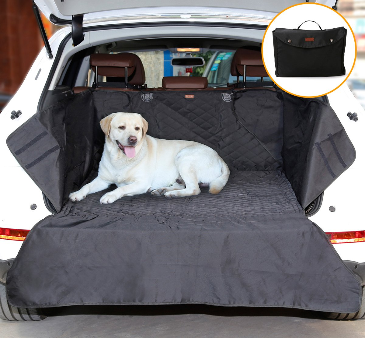 suv coffre housse protection de si ge pour chien ayada tapis voiture ebay. Black Bedroom Furniture Sets. Home Design Ideas