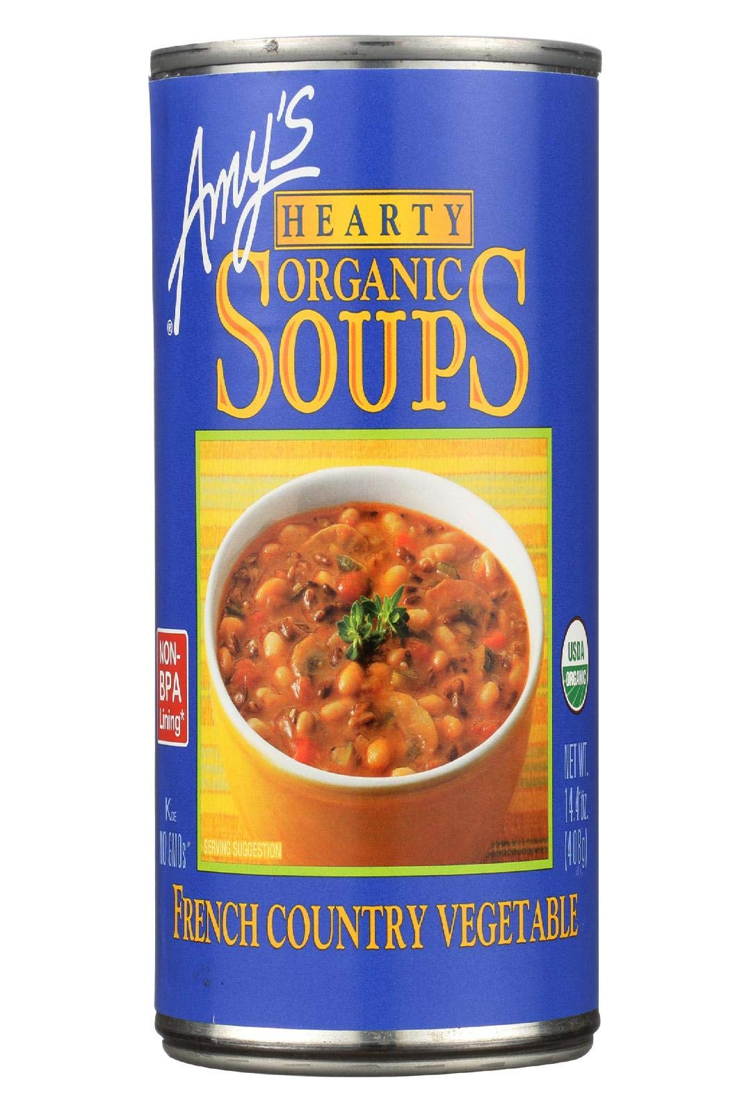 Organic Soup; Vegetarian Hearty French Country