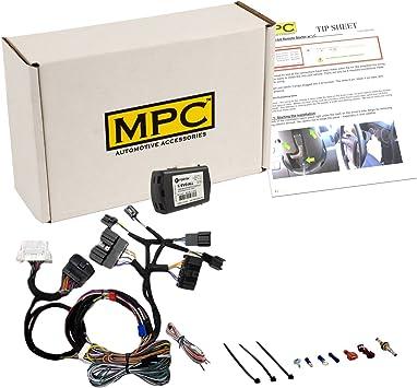 Select 2008-2014 Ford Vehicles Plug /& Play 1 Way Keyless Remote Start Kit Fits