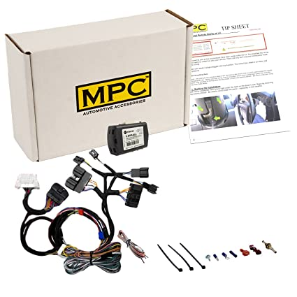 MPC Complete Plug & Play Add-on Remote Start Kit for 2016-2018 Ford Focus -  Uses Factory Remotes - Firmware Preloaded