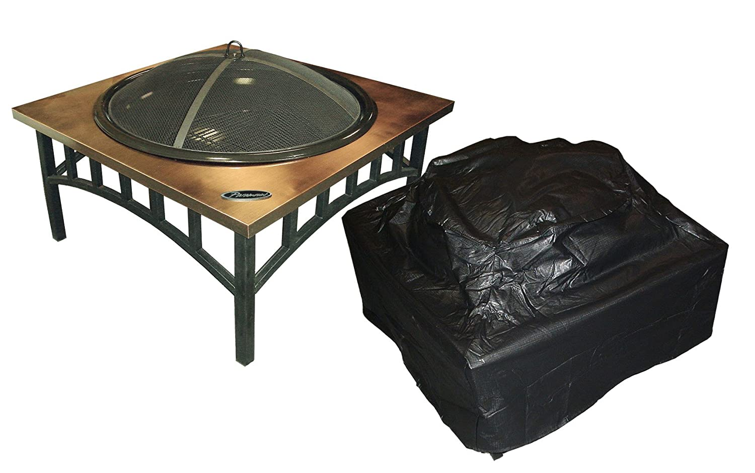 Paramount PH‐Cover‐201 Outdoor Vinyl Square Firepit Cover PH-COVER-201