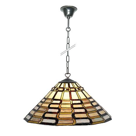 Lámpara de techo, estilo tiffany de techo