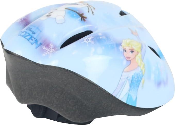 Widek niña Frozen de Disney de Seguridad para Bicicleta Casco 50 ...