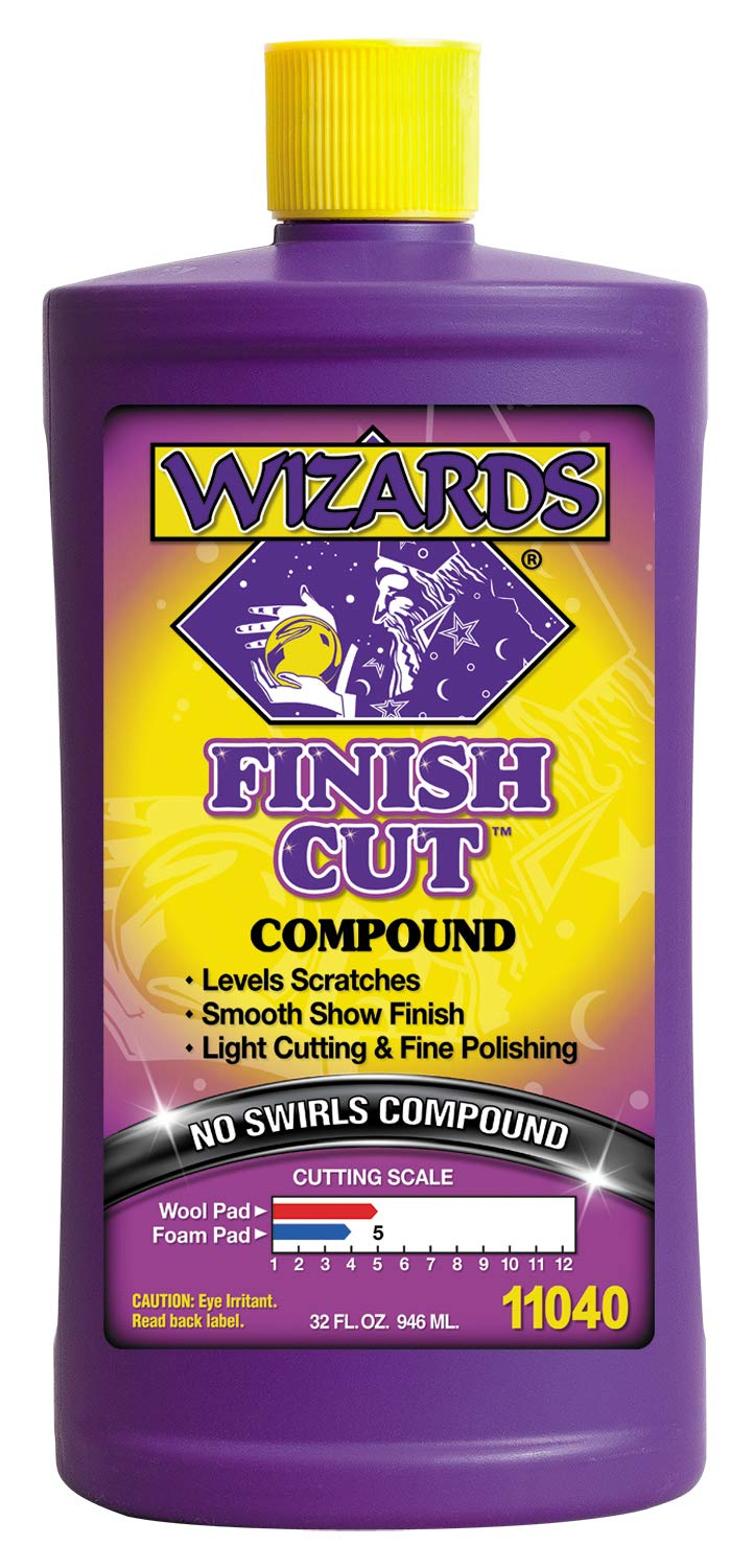 Wizards Products 11040 Finish Cut Compound, 32-Ounce