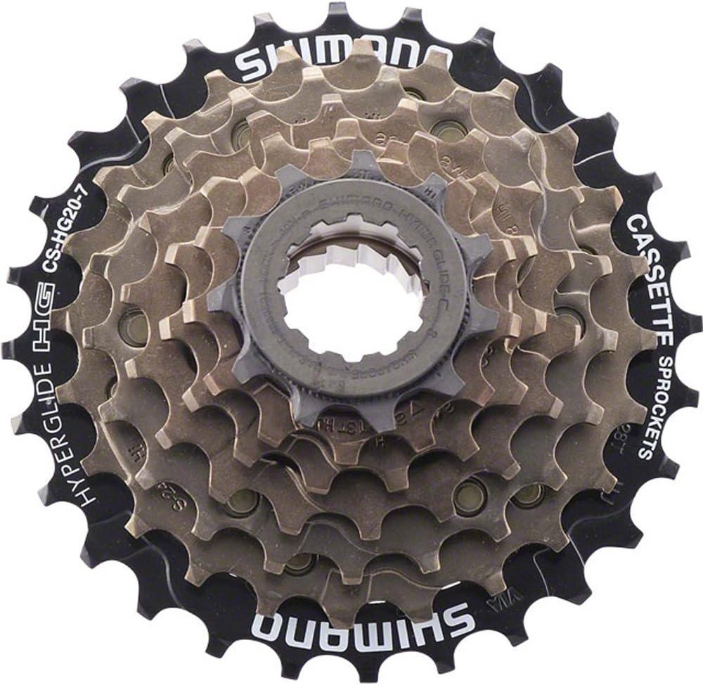 Shimano CS-HG20-7 7 Speed Bike Cassette Sprocket 12-32T