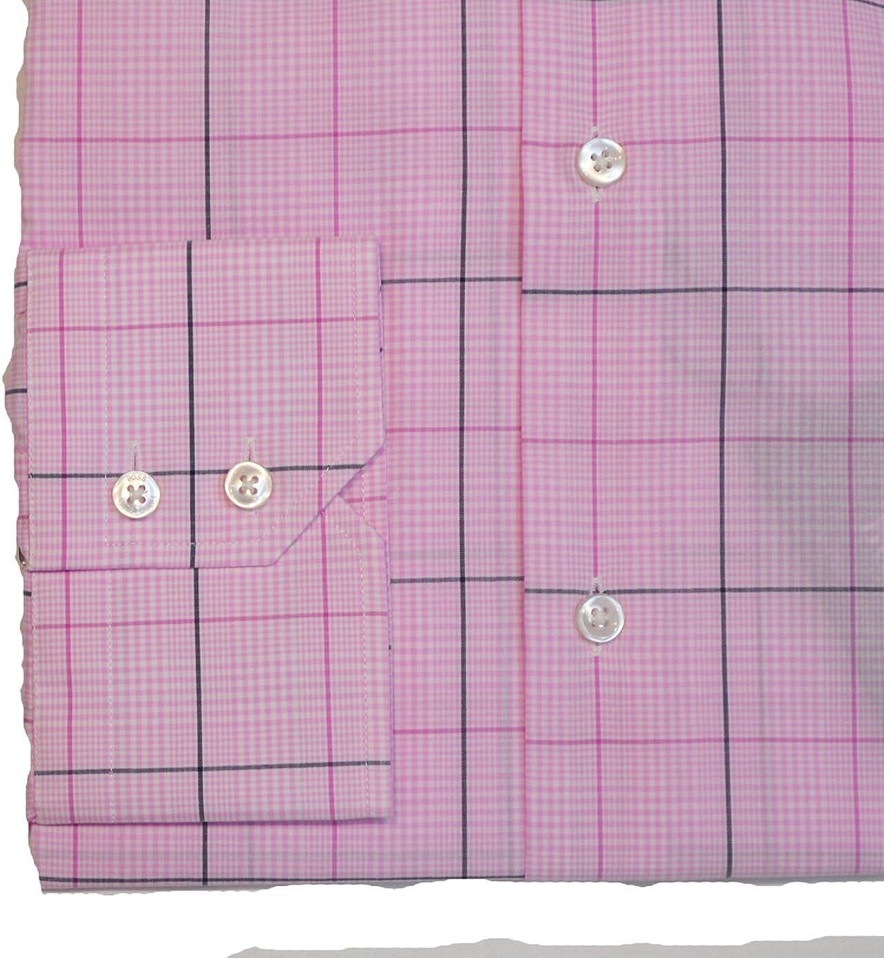 Hugo Boss Boss Gerald Classic Collar Formal Check Shirt