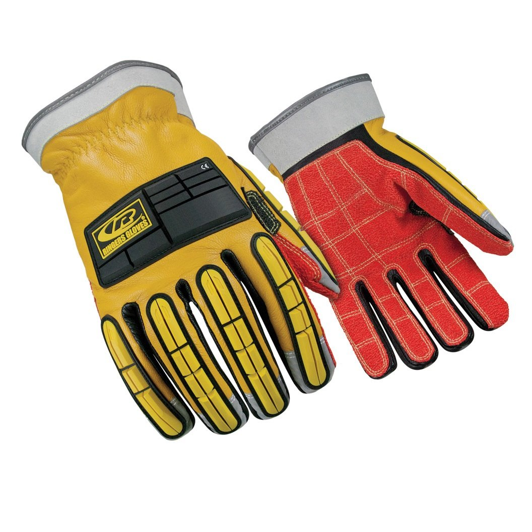 Ringers Gloves R-285 Leather, CE Level 3 Cut Protection, KevLoc Grip System, XXX-Large