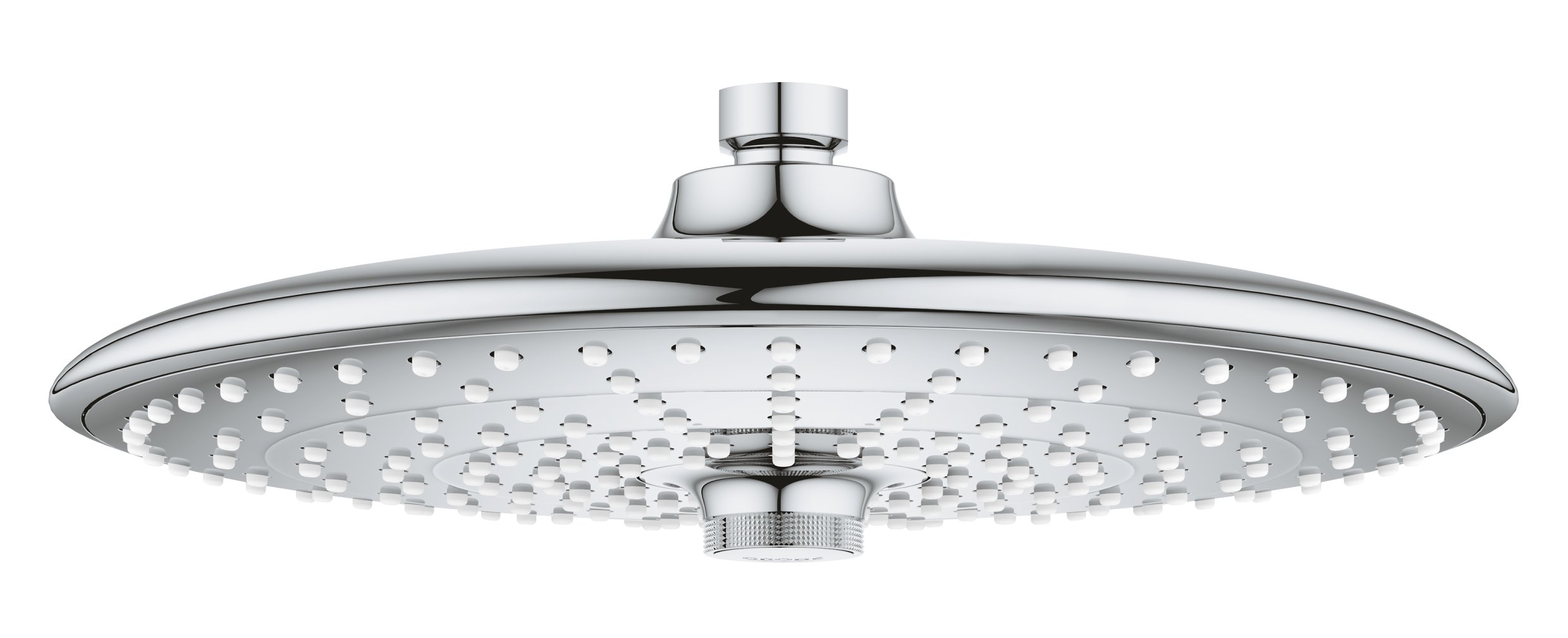 Grohe 26457000 Euphoria 260 Shower Head with 3 Spray Patterns, 2.5 gpm, StarLight Chrome by GROHE