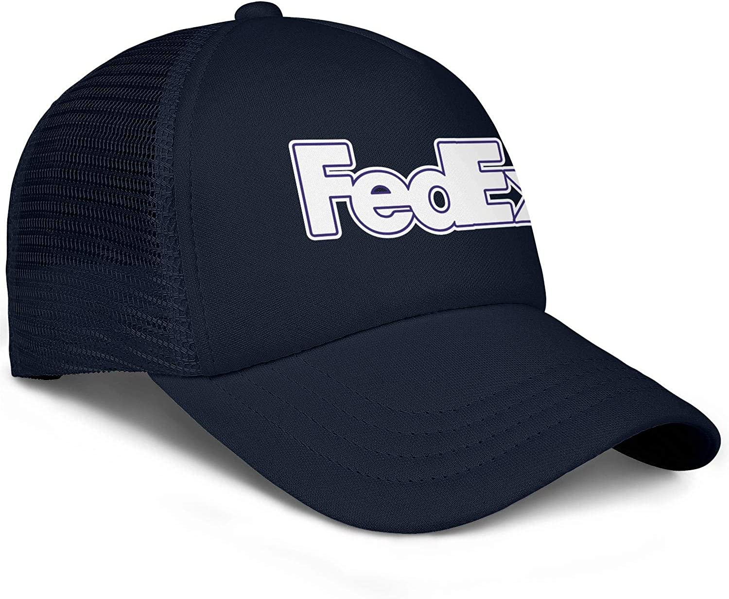 Men Unisex Adjustable FedEx-Federal-Express-Purple-Trace-Baseball Cap Outdoor Flat Hat