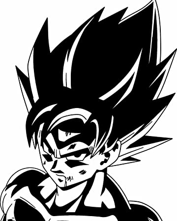 Goku dragon ball z car window bumper decal grpahics art novelty sticker b50