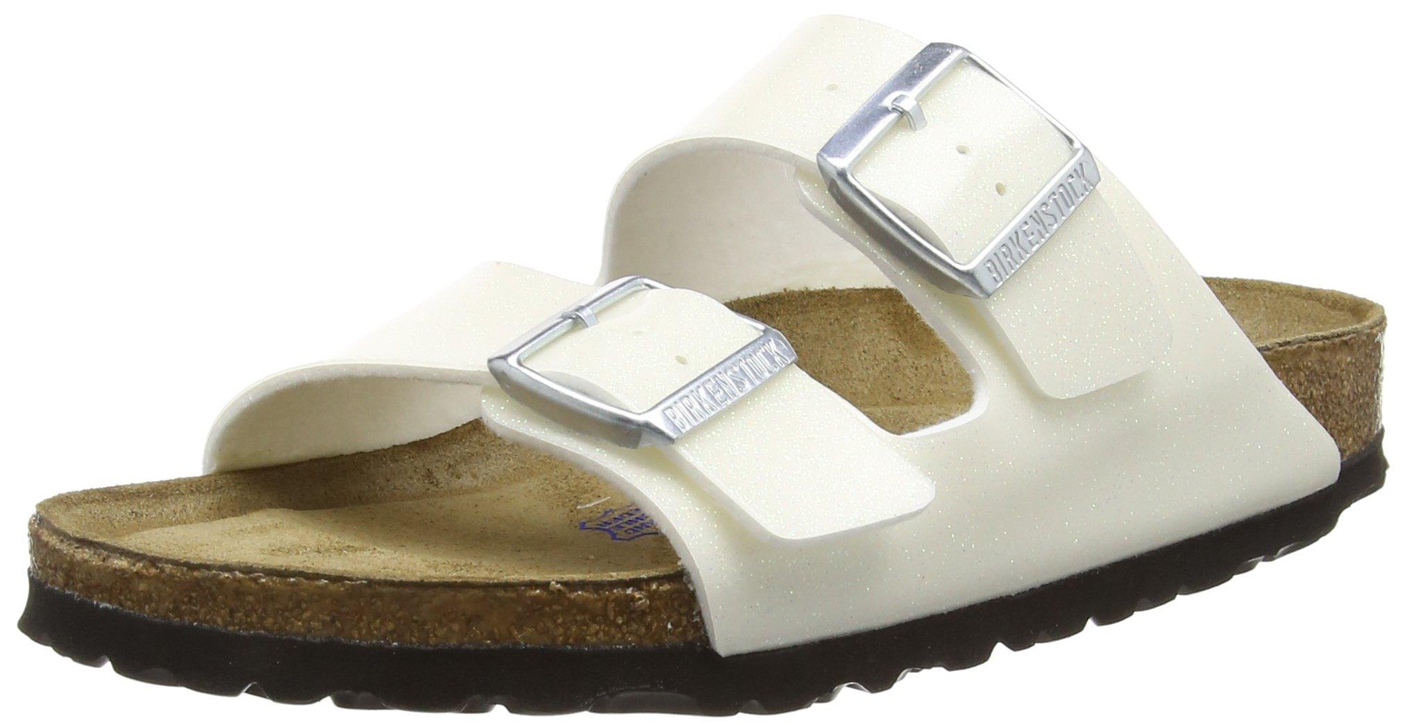 Birkenstock Unisex Arizona Magic Galaxy White Sandals - 6-6.5 2A(N) US Women