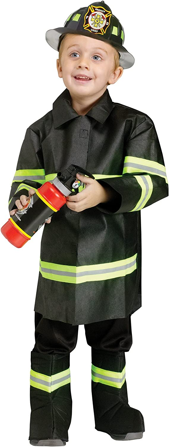 Fun World Costumes Baby Boy's Toddler Fire Chief Costume