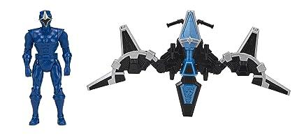 Power Rangers Ninja Steel - Planeador Ninja Steel Ranger Azul (Bandai 43574)