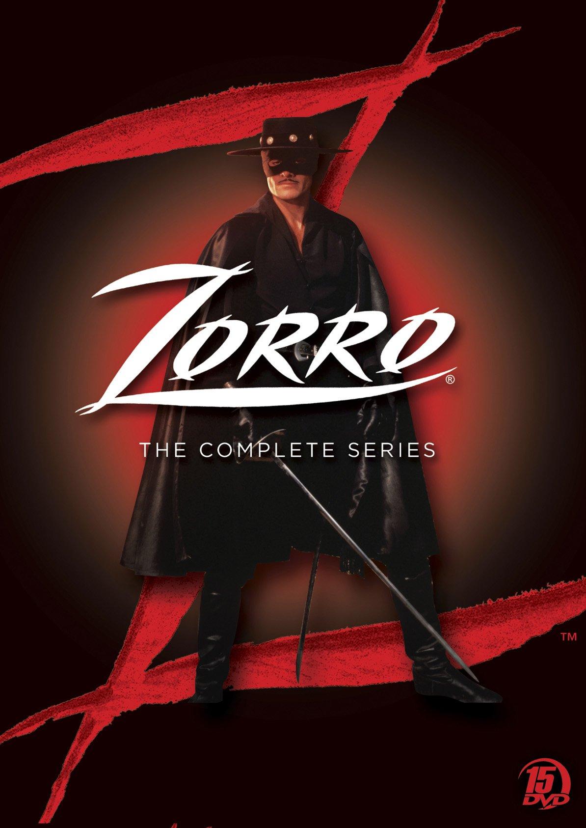 Zorro:complt Series Dvd Set