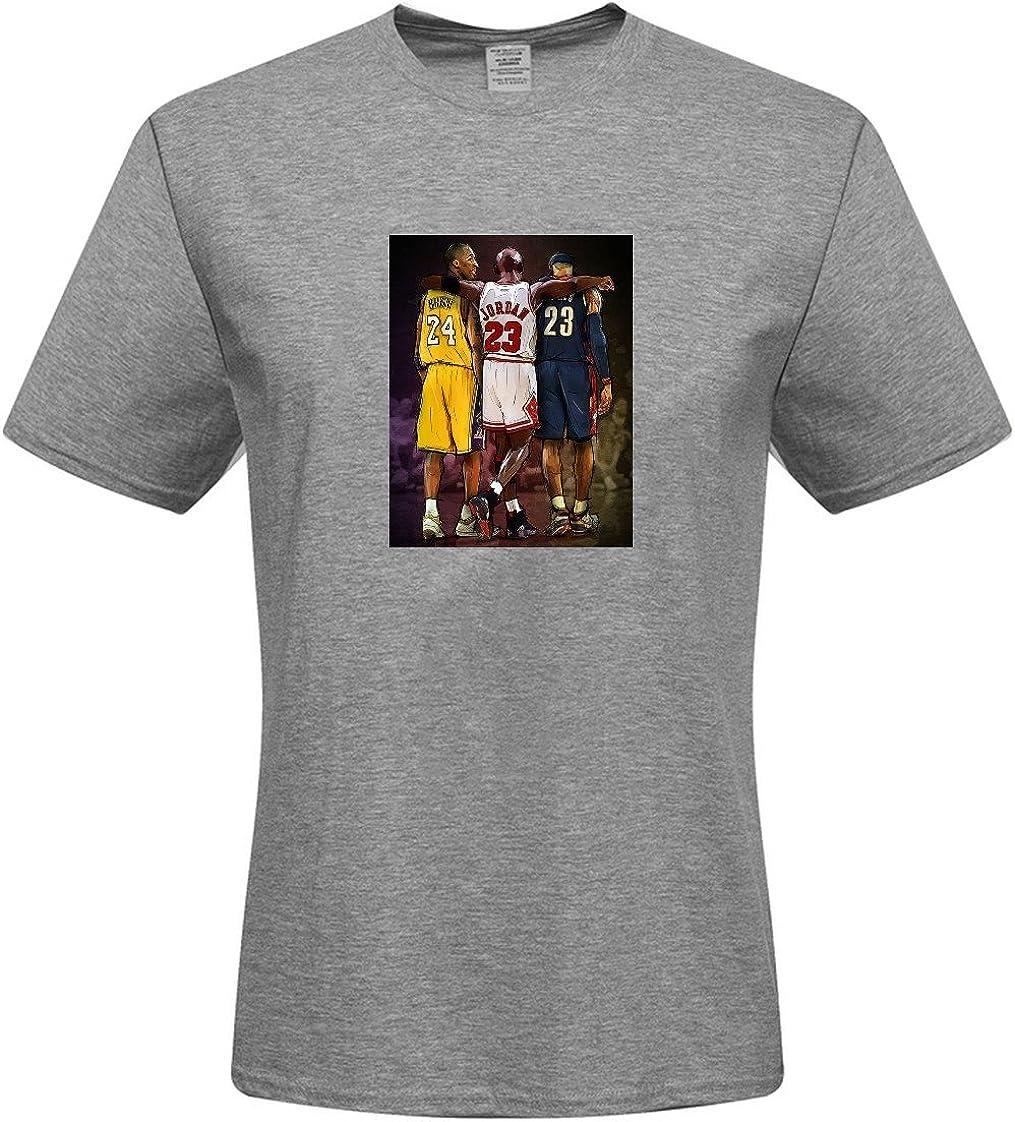 Camisa de camiseta para hombre – Custom Michael Jordan camisetas, Gris (XXL): Amazon.es: Ropa y accesorios