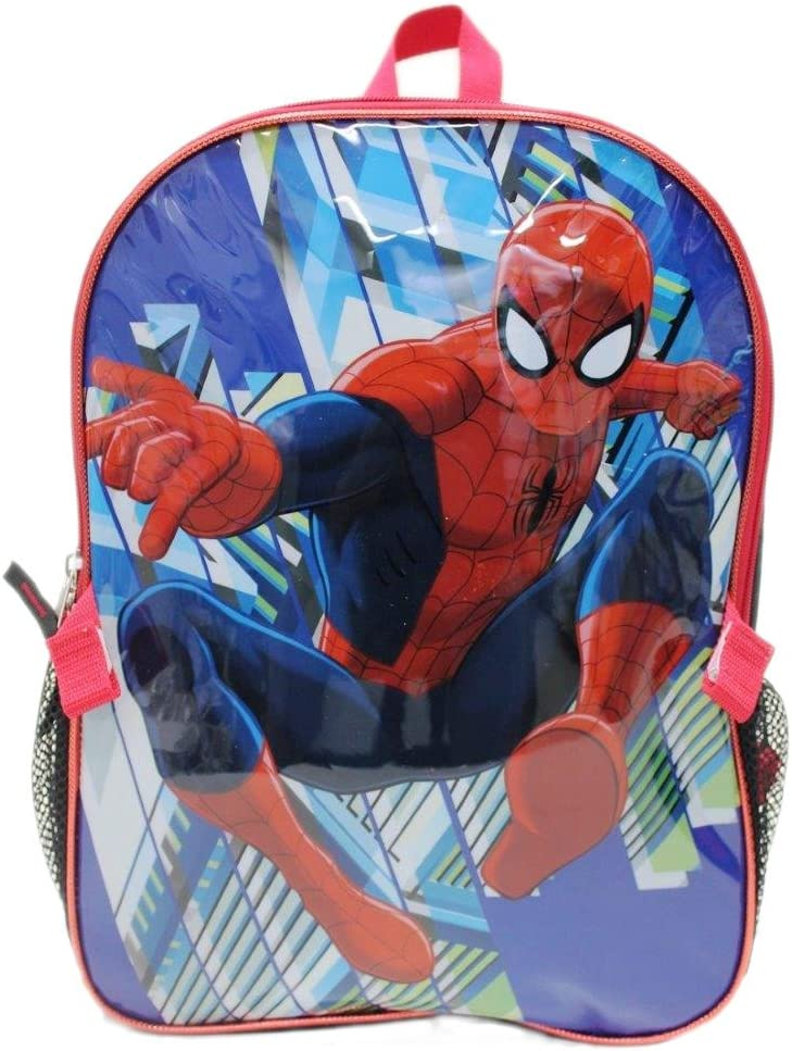 """Spider-Man /""""Sinister 6/"""" Insulated Lunchbox Blue//Multi One Size"""