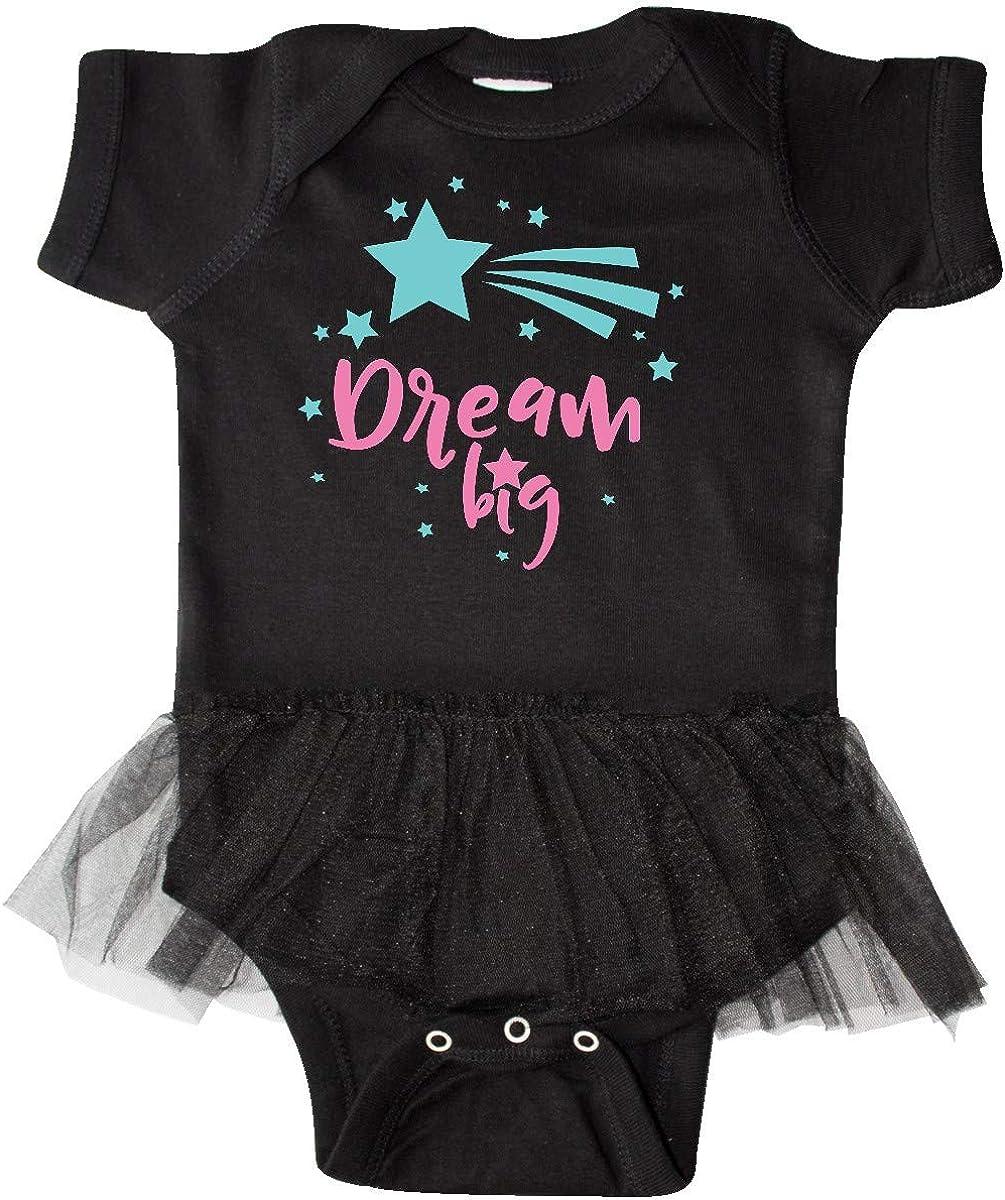 Pink Blue Infant Tutu Bodysuit inktastic Dream Big Wish Shooting Star