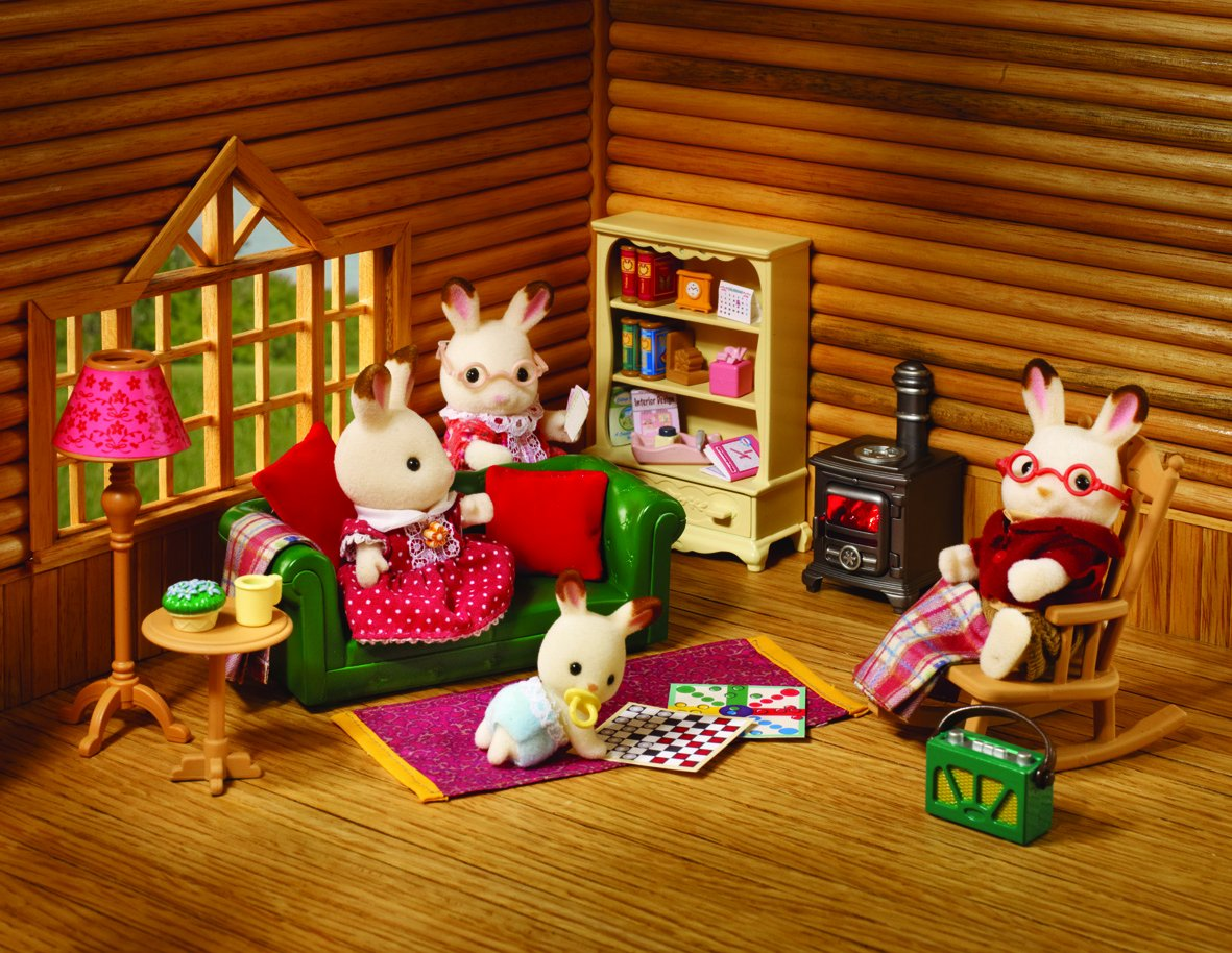 Sylvanian Families Cosy Living Room Furniture Amazoncouk Toys