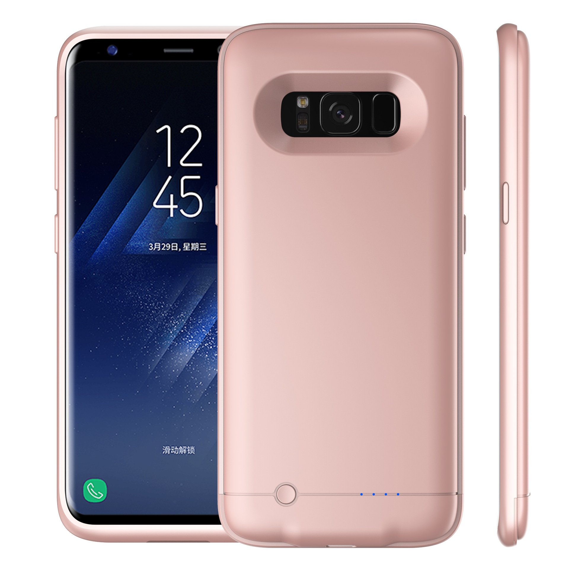 Torubia Samsung Galaxy S Lite Luxury Edition Samsung Galaxy S8 4200mAh Battery Case, Cover External Protective Battery Cover Samsung Galaxy S Lite Luxury Edition Samsung Galaxy S8 4200mAh