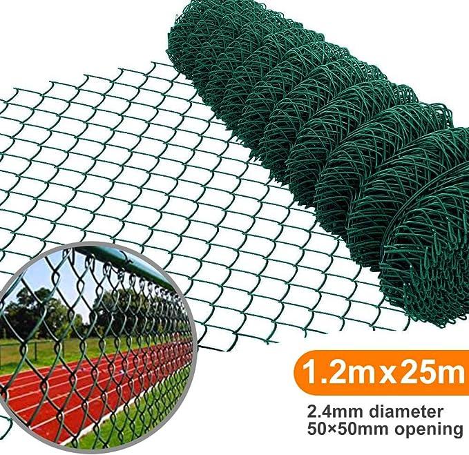 Amagabeli 1.2M X 25M Rollo Malla Cerca de Alambre Enrejado ...