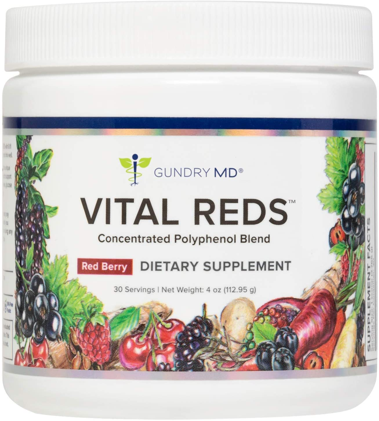 Gundry MD™ Vital Reds™ Concentrated Polyphenol Blend, 30 Servings