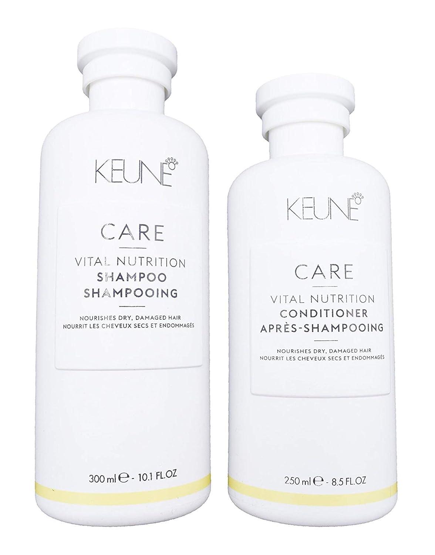Keun Care Vital Nutrition Shampoo 10.1oz and Conditioner 8.5oz Duo
