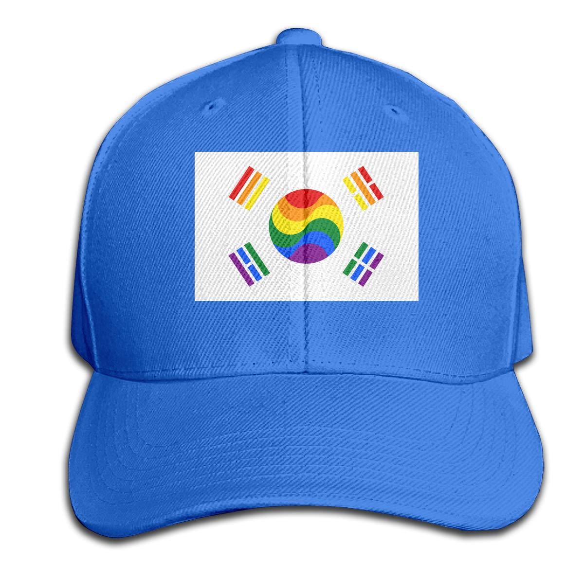Gorras de béisbol para Hombre y Mujer, Bandera de Corea del Sur ...